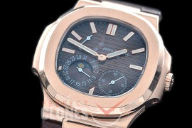 PP-5712-113 PF Nautilus 5712 Date/Moon Phase Power Reserve RG/LE Brown Asian Customized Calibre 320