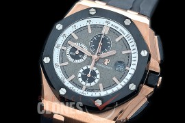 AAP00082 ARF/JF 2020 26416 V2 Royal Oak Offshore Pride of Germany Limited Edition RG/RU Grey A-3126