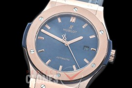 HBFS-45-0024 ANF Classic Fusion 45mm Automatic RG/LE Blue Asian Clone 2892