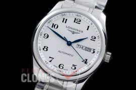 0 LG00181S XF Master Daydate Automatic Date SS/SS White Numeral A-2824