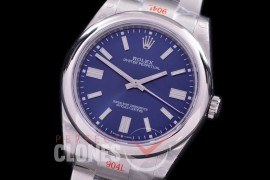 RLOY-41-023S GMF 904 Steel Osyter Perpetual 41mm 124300 SS/SS Blue Sticks SA 3230