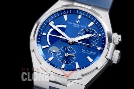 0 VCO-043 Overseas Calendar/Power Reserve/Duo Time Zone Complications SS/RU Blue Asian Modified Movt