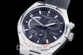 0 VCO-042 Overseas Calendar/Power Reserve/Duo Time Zone Complications SS/RU Black Asian Modified Movt