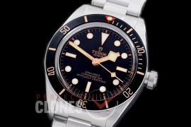 TU00089 Black Bay Fifty Eight Special Edition Heritage Black Bay Shield 79030N SS/SS Black Asian Clone 2824