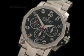 CO1003Admirals Cup Challenge Chrono SS/SS Black A-77528800
