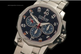 00CO10031 Admirals Cup Challenge Chrono SS/SS Blue A-7750 28800