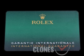 RLACC-906 2020/2021 New Design Rolex Warranty Cards with NFC Scan
