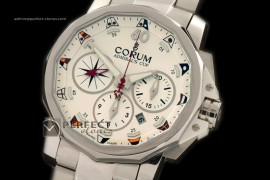 CO10029 Admirals Cup Challenge Chrono SS/SS White A-77528800