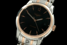 LG01007 Masters Collection SS/YG Black Asian 2824-2