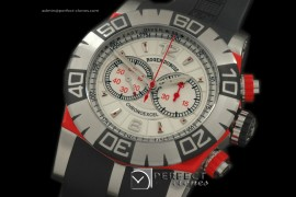 RD00031 Easy Diver Chronoexcel SS/Red/RU White A-775Mod