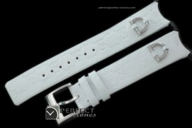 GU00291 U Play Mid Size Accessories - White Leather Strap