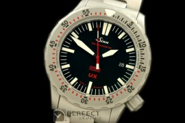 SI01114S UX Hydro Automatic SS/SS Black Asian 2813 Free Shipping