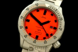 SI01101S U1 JR Limited Ed Automatic SS/SS Red Asian 2813