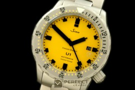 SI01102S U1 JR Limited Ed Automatic SS/SS Ylw Asian 2813