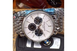 W-PP-CC-101 Calender Complications SS/SS White Japanese Miyota