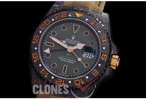 RLGFC-116 JHF DIW NTPT GMT 116710 Special Edition FC/RG/NY Green/Rose Gold CF SA 3186 CHS